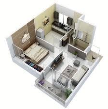 ... Apartment Interior Design For 1bhk Flat Ideas A 1BHK ...
