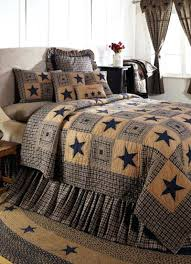 Country Primitive Quilts – boltonphoenixtheatre.com & ... Country Primitive Comforter Sets Vintage Star Navy Primitive Quilt Set  Bedding From Allysonsplacecom Primitive Country Quilt ... Adamdwight.com