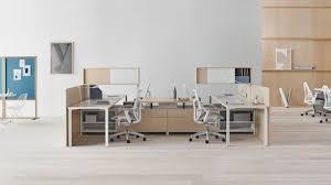 Office workstation desks Person Office Canvas Dock Workstation With Desks Upper Storage And Gray Mirra Office Costco Wholesale Canvas Office Landscape Workstations Herman Miller