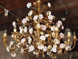 vintage chandelier crystal jewelryque replacement crystals prisms white chain bronze