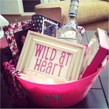 good 21st birthday gifts unique diy wild at heart gift basket of ideas for her