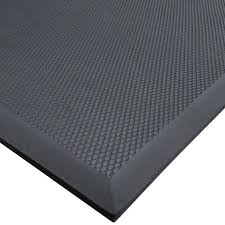 rubber floor mats. Cactus Mat 2200-35 VIP Black Cloud 3\u0027 X 5\u0027 Grease-Proof Rubber Floor Mats G