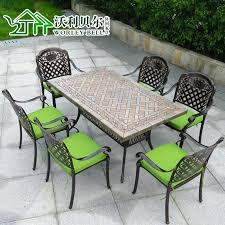 latest craze european outdoor furniture cement. European Patio Furniture Get Quotations A Cast Aluminum Outdoor Wrought Iron Tables And Chairs Leisure . Latest Craze Cement S