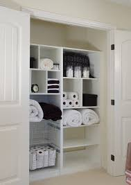 diy linen closet contemporary with hall white intended for hallway organizers decor 7