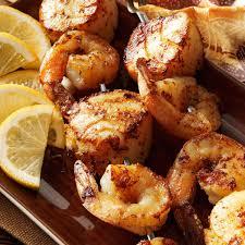 Spicy Shrimp 'n' Scallop Skewers Recipe ...