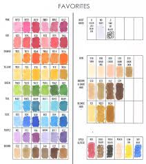 Information On Copic Markers Giveaway Jennifer Mcguire Ink