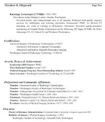 Activities Resume Format Custom Radiology Resume Template Updrillco