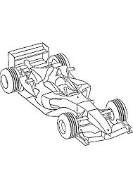 Dessins Colorier Coloriage Voiture Formule Imprimer X Auto Course