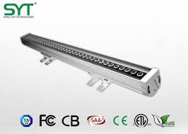 single color outdoor led sign lighting led wall washer ip65 light aluminum housing