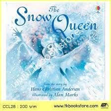 The Usborne Picture Book :The Snow Queen นิทานภาพ ราชินีหิมะ - หนังสือเด็ก  หนังสือเด็กภาษาอังกฤษ TKbookstore TKbooks หนังสือสองภาษา สำหรับเด็ก โฟนิกส์  โฮมสคูล Home School บ้านหนังสือ : Inspired by LnwShop.com