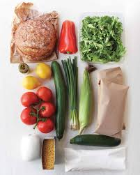 Planned Meals For A Week Grocery Bag Your Weekly Meal Planner Martha Stewart