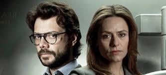Resultado de imagen para Álvaro Morte (El Profesor) e Itziar Ituño (Raquel)