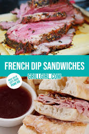Use thinly slice leftover beef in sandwiches and main. French Dip Sandwiches Great Use Of Leftover Prime Rib Grillgirl