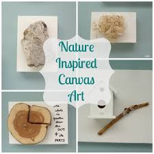 turn nature holiday collections into nature canvas art on nature inspired wall art with turn nature and holiday collections into nature canvas art