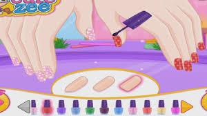 Barbie Prom Nails Designer - Barbie Nails Art Game - YouTube