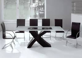 Design For Dining Room Inspiration Dining Room Idea Modern Glass Decoration Also Table R Contemporary