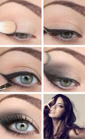 smokey eyes are actually pretty difficult to do but take a look at this tutorial and hopefully it will help break it down for you