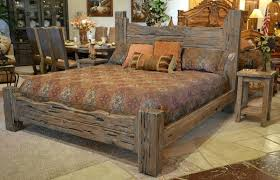 wood bed frame king. Western Bed Frames Image Of Prissy Rustic King Size Frame Wooden Wood D