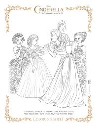 Fairy New Cinderella Coloring Page