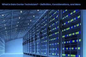 Data Center Lighting Design What Is Data Center Technician Definition Considerations