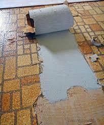 asbestos vinyl sheet flooring photo 1 of 7 asbestos backing from vintage sheet flooring by delightful