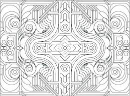 Geometric Color Pages O9660 Geometric Coloring Pages For Kids 2