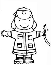 Kleurplaat Brandweer Brandweer Fireman Party Crafts For Kids