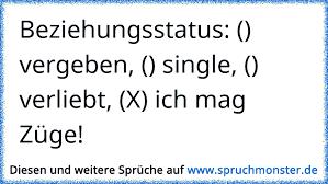 Beziehungsstatus Vergeben Single Verliebt X Ich Mag
