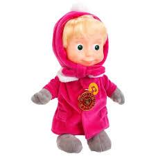 Мягкая <b>игрушка Мульти-Пульти Маша в</b> зимней одежде 29 см ...