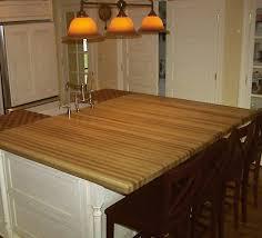 ash light wood countertop