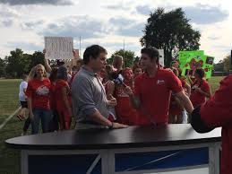 """Sinclair College on Twitter: """"Adam Murka live on WDTN with the pep squad of  Carlisle high school! The game tonight is vs Franklin! Sinclair is at the  tailgate...… https://t.co/W7xdnomGQz"""""""