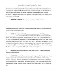 ms word purchase free intent letter templates 22 free word pdf documents