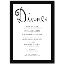 Free Printable Rehearsal Dinner Invitation Template Varthabharathinet Amazing Free Dinner Invitation Templates Printable