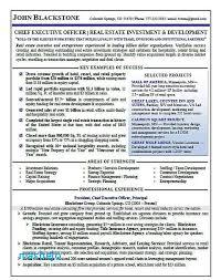 Sample Resume Real Estate Bio Examples Resume