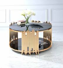 acme coffee table furniture falan 83000 vendome traditional gold patina