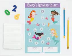 Personalised Reward Chart Reward Charts For Girls And Boys