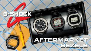 Aftermarket <b>Bezels for</b> Casio G-Shock Watches! Titanium & <b>Stainless</b> ...