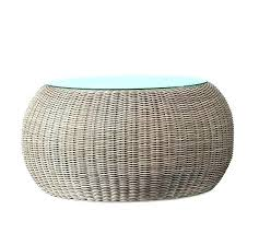 rattan end tables with glass top white wicker coffee table wicker lane offers outdoor wicker end rattan end tables