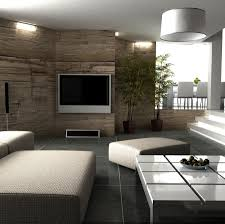 Textured Wall Living Room Design