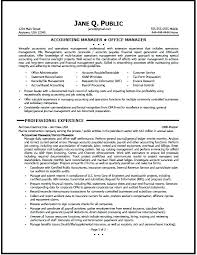 Cpa Sample Resume – Resume Template Directory