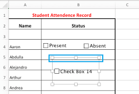 How to Insert Checkbox in Excel