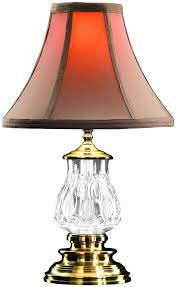 com waterford blue bell inch accent lamp home