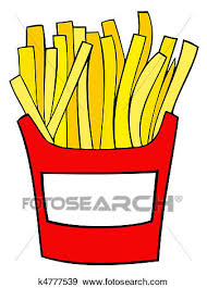 french fries clip art. Clip Art French Fries Fotosearch Search Clipart Illustration Posters Drawings Throughout