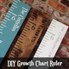 Diy Growth Chart Stencil Growth Chart Ruler Stencils For Diy