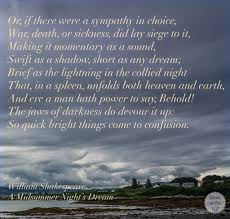 Midsummer Nights Dream Quote William Shakespeare Quote A Midsummer