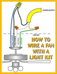 how to wire a ceiling fan a light kit tools how to wire a ceiling fan a light kit