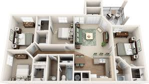 Montelena Apartment Homes Four Bedroom