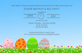 Easter Brunch 2017 Wesley College