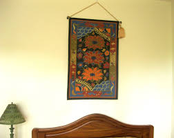 1 response wall hangings via canvas rugs