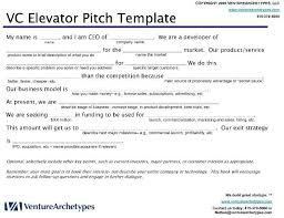 Elevator Pitch Example Google Search Uop Pitch Sample Resume
